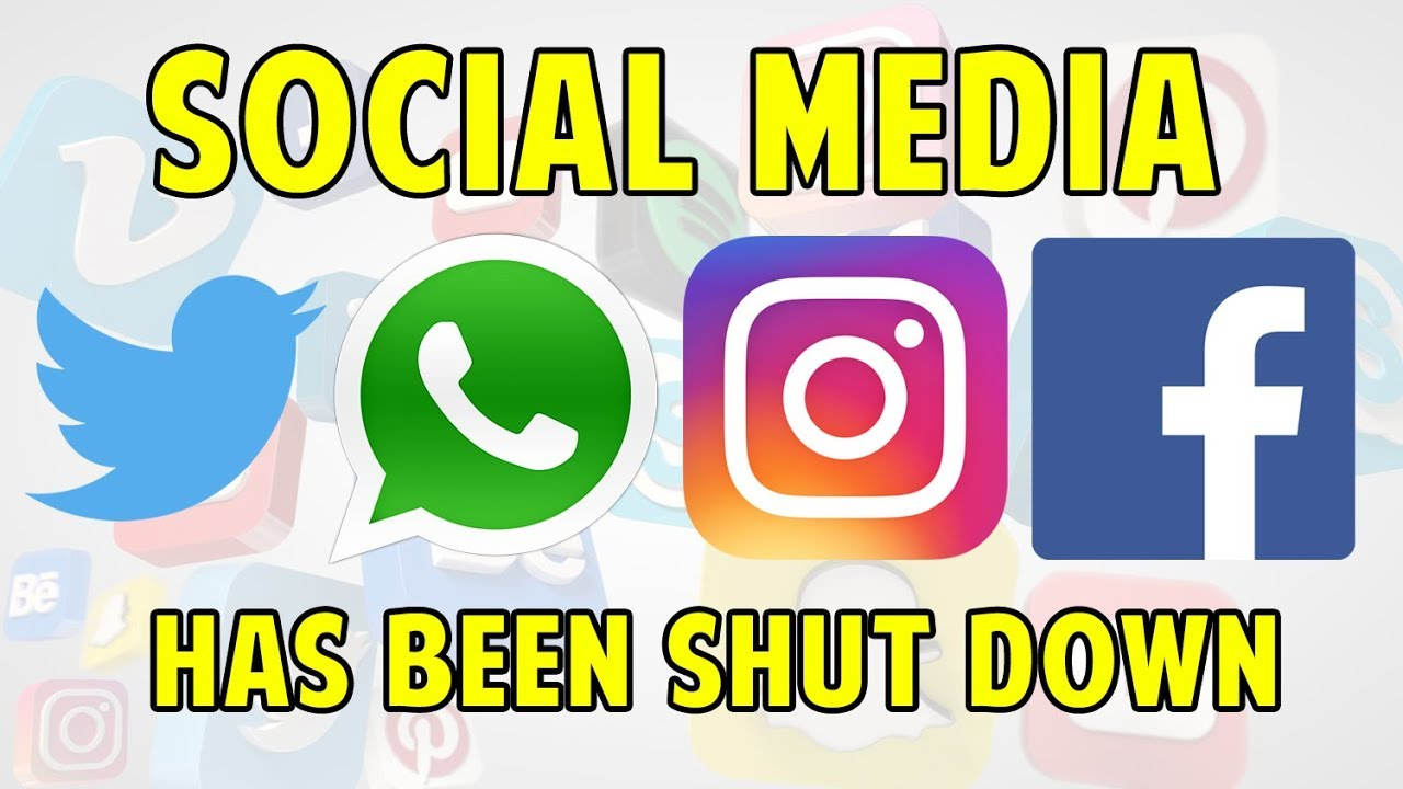 WHY ALL SOCIAL MEDIA STOPPED WORKING ?! [Instagram, Whatsapp & Facebook  shutdown] (July 2019)
