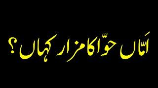 Wrong Concept of Grave of Bibi Hawa - Short Speech - Maulana Ilyas Qadri