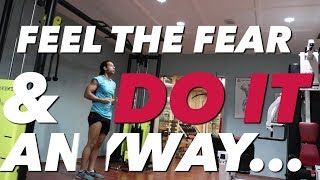 BACK, BICEPS, & ABS WORKOUT - FEEL THE FEAR & DO IT ANYWAY | SAIF