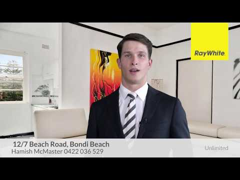 Bright beachside pad in an Art Deco block  - 12/7 Beach Rd, Bondi Beach