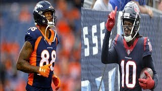 Demaryius Thomas & DeAndre Hopkins (2D) - Catch of the Year Duo!