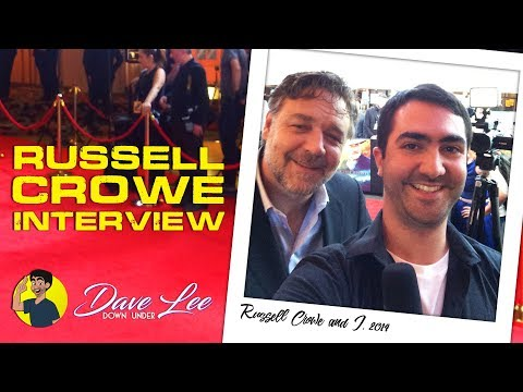 RUSSELL CROWE Interview