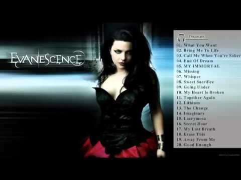 Evanescence English Song All Time Hit English Song Best