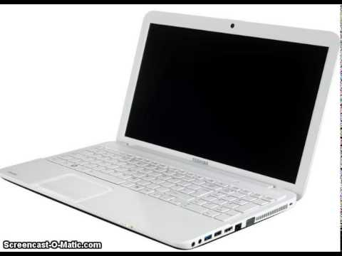 TOSHIBA SATELLITE C850-B253 tout le drivers download - YouTube