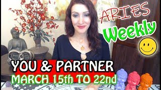 "ARIES SOULMATE TAROT ""THEY WANT YOU BACK!!!"" MARCH 16-22 WEEKLY TAROT READING"