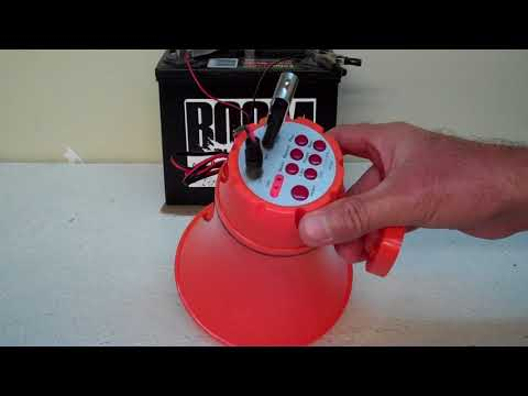 Boom Blasters - Rowdy Joe Custom Musical USB Car Horn