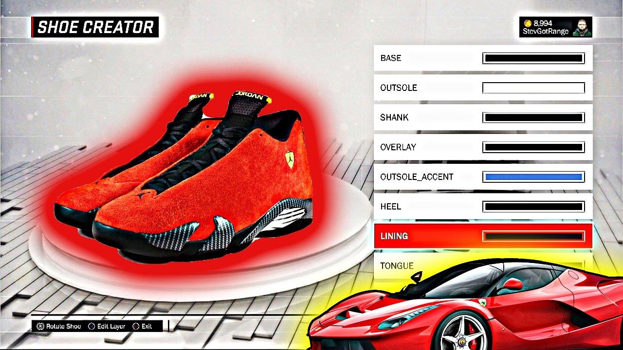 4491141012ee NBA 2K17 Shoe Creator