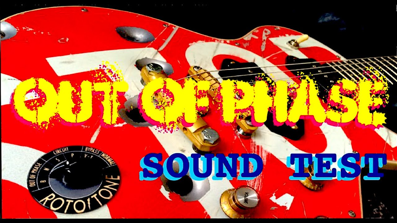 Stop Sign Guitar - Out of phase sound test. - YouTube