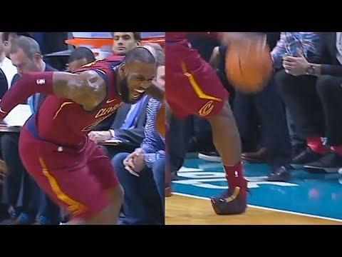 LeBron James Injury | Cleveland Cavaliers vs Charlotte Hornets