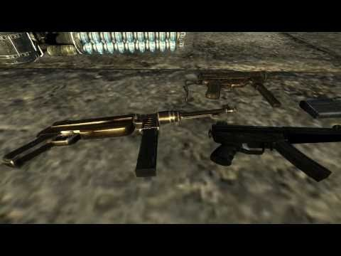 Fallout New Vegas Mods: Classic Fallout Guns, CLO, and Terminator Weapons