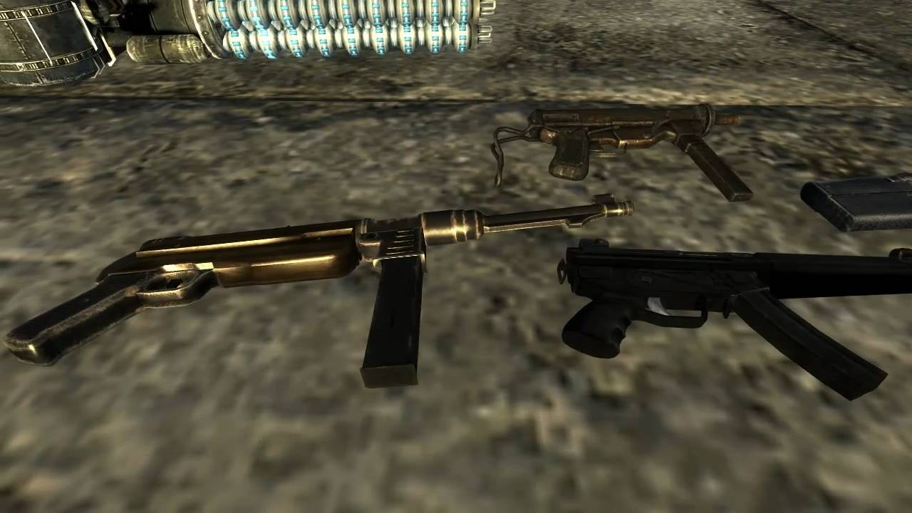 Fallout New Vegas Mods: Classic Fallout Guns, CLO, and Terminator ...
