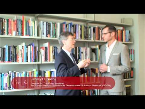 Jeffrey Sachs, Director of 'The Earth Institute' & SDSN