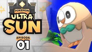 IT IS TIME TO BEGIN!!! | Pokemon Ultra Sun & Ultra Moon Let's Play - 01 w/ TheHeatedMo