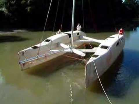 Large Folding Catamaran