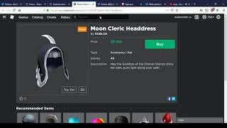 New Butterfly Antlers of Spring And Moon Cleric Headdress | Roblox Memorial Day Sale 2019 #16