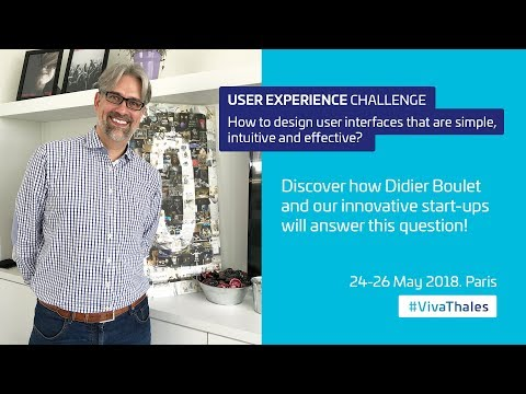 Thales @ VivaTech 2018: User Experience