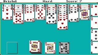Hoyle Book of Games Volume 2 : Solitaire (Dos game 1990)