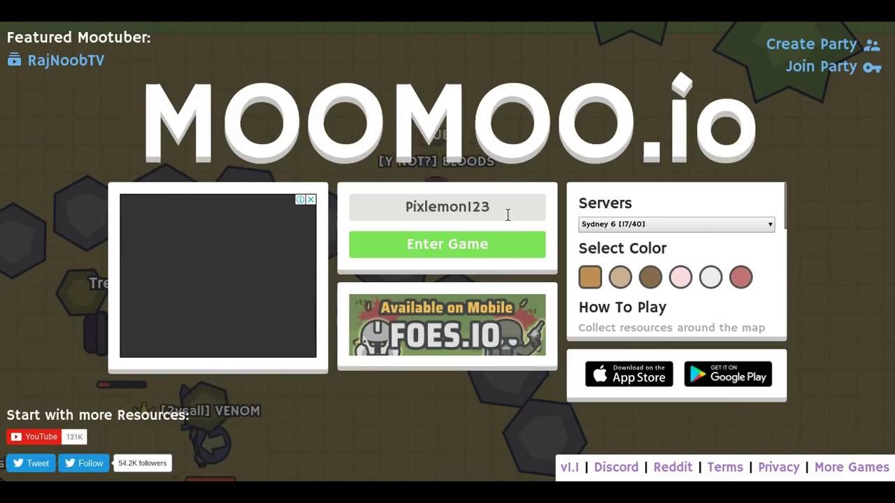 Moomoo io New v1 0-v1 1 Updates