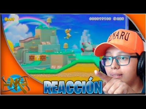 Mi reacción al nuevo video de Super Mario Maker 2!! - ElNaroh