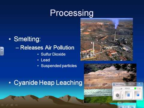 Mining Ecological Consequences