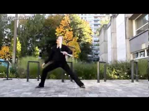 Обучение работе с нунчаку: видео урок -