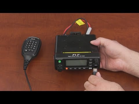 TYT MD-9600 Dual Band Mobile DMR Digital Radio Unboxing and First Look