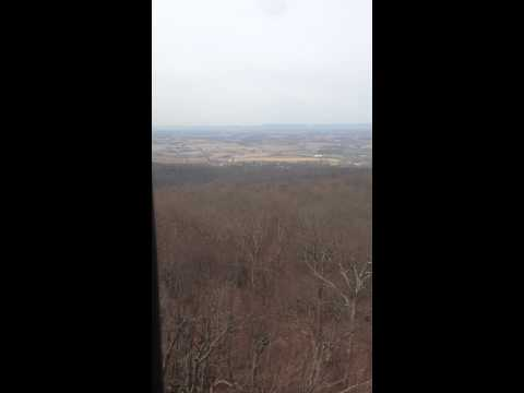 Blue ridge summit, pa fire tower