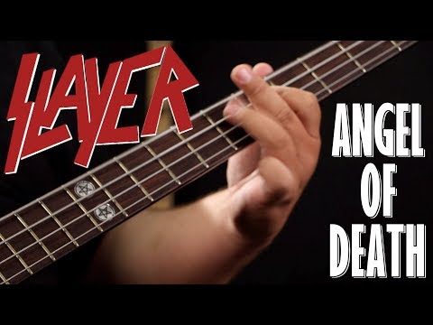 [BASS COVER] Slayer - Angel Of Death