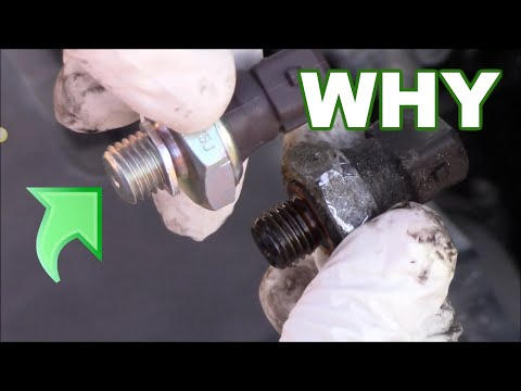 Oil Pressure Sensor Replacement