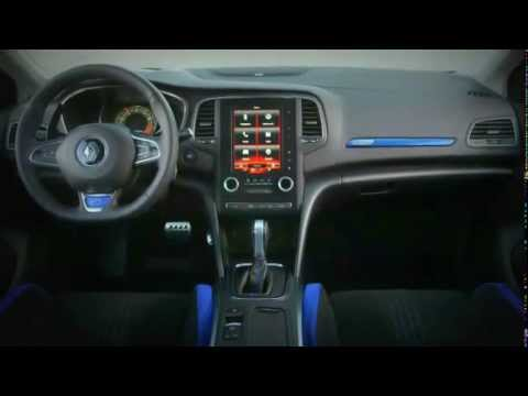 all new 2016 renault megane gt line interior youtube. Black Bedroom Furniture Sets. Home Design Ideas