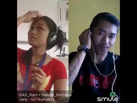 Janji - Siti Nurhaliza cover smule Nanda dan DA Rani