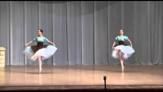 "Танец ундин из балета ""Наяда и рыбак""."