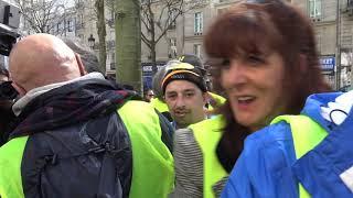 Gilets jaunes Acte 21 : manifestation jusqu'à La Défense (6 avril 2019, Paris)