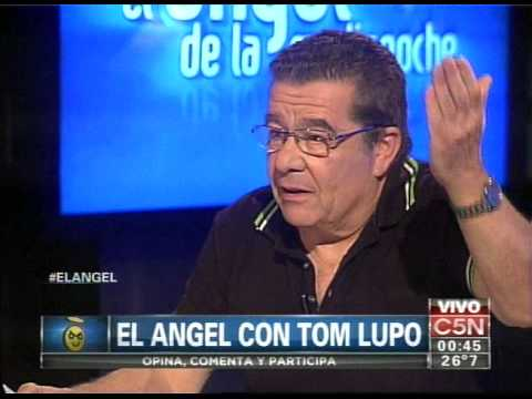 C5N - EL ANGEL DE LA MEDIANOCHE: ENTREVISTA A TOM LUPO