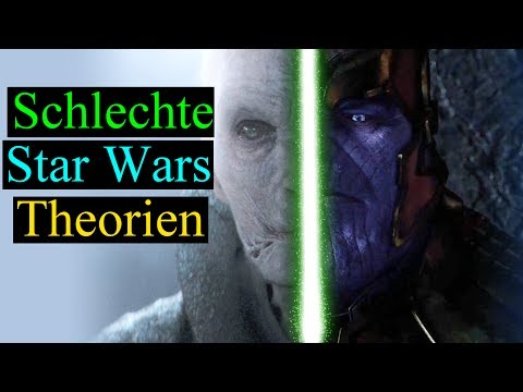 3 SCHLECHTE  Star Wars Theorien (Deutsch)
