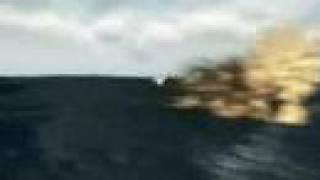 Ataque Argentino al portaviones Invencible Ingles