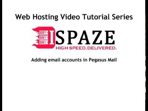 How to Add Email Accounts In Pegasus Mail  - ISPAZE.COM