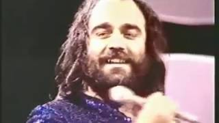 Demis Roussos at the TV Show One Over The Eight (1973)