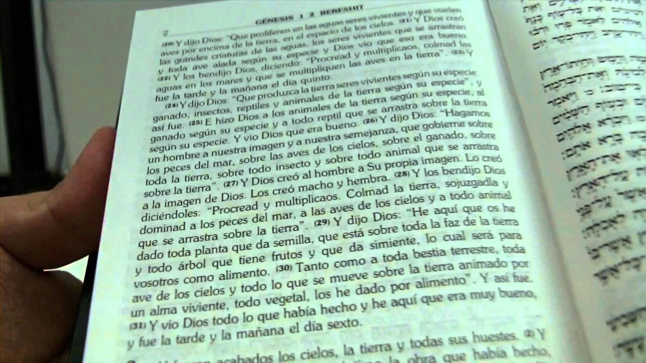 la biblia en ingles y español pdf