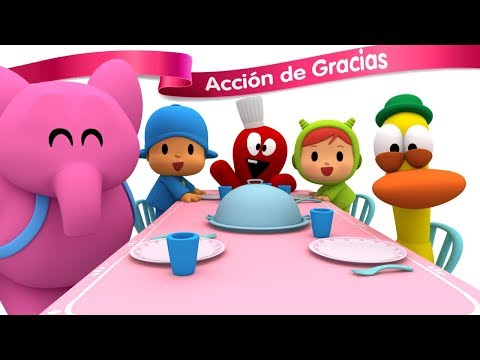 🦃 POCOYÓ en ESPAÑOL - Acción de Gracias [ 60 min ] | CARICATURAS y DIBUJOS ANIMADOS para niños