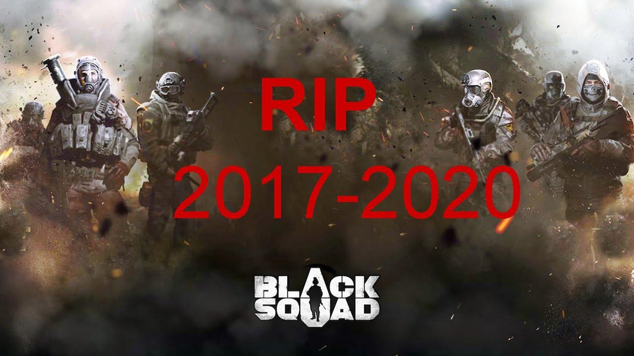 Black Squad case unboxing 2017-2019 Rip skin market