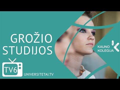 Kauno kolegija - Grožio studijos   UNIVERSITETAI.TV