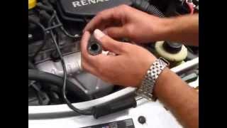 Manutenção caseira - como diagnosticar defeito na bobina do Renault Logan por Flávio Eduardo Fuso