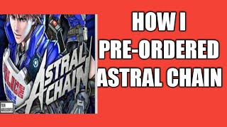 How I Bought Astral Chain From Gamestop