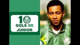 10 Gols de JÚNIOR (Palmeiras)