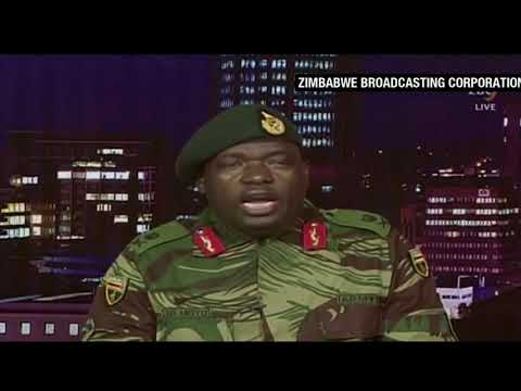 Zimbabwe crisis: Army seizes state broadcaster but denies coup
