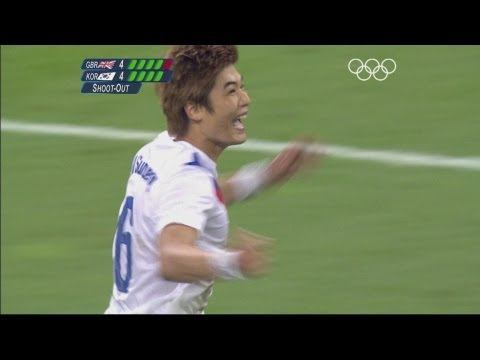 Korea Defeat Great Britain on Penalties - London 2012 Olympics