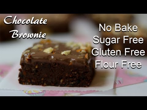 No Bake Chocolate Brownies | Sugar Free Brownies | 2 Minute Recipes