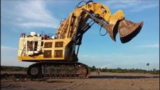 Mega Machines CAT 6090 FS Excavator Hydraulic Mining Shovels