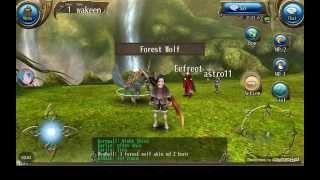 Toram Online Forest Wolf Vs Lvl 1 2h
